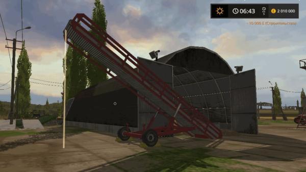 Мод хранилище для картофеля, свеклы и тростника v1.0 для Farming Simulator 2015
