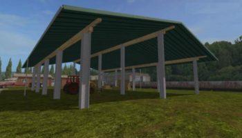 Мод навес STRAW STORAGE V1.0 для Farming Simulator 2015
