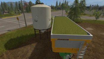 Мод покупаемая емкость с сечкой CHAFF TANK V1.0 для Farming Simulator 2015