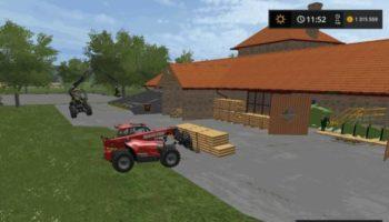 Мод производство TARTAK SAWMILL SEBA J V1.0 для Farming Simulator 2015