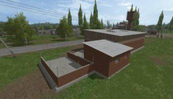 Мод сарай HALA COWSHED #01 для Farming Simulator 2015