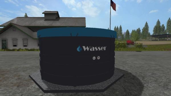Мод точка набора воды WASSERTANK V1.0 для Farming Simulator 2015