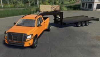 Мод ПАК 5th Wheel Hitch Pack v1.0 для Farming Simulator 2015