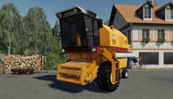 Мод ПАК Bizon Rekord 5058 HYDROSTATIC v1.0 для Farming Simulator 2015