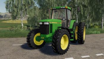 Мод ПАК John Deere 7000-7010 Series 2wd для Farming Simulator 2015