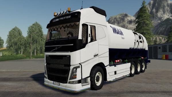 Мод ПАК Volvo FH16 truck pack v1.0 для Farming Simulator 2015