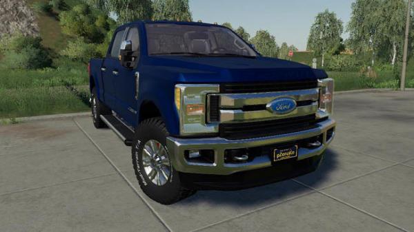 Мод авто Ford F-250 Superduty 2017 v1.0 для Farming Simulator 2015