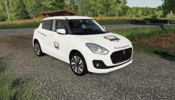 Мод авто Suzuki Swift 2018 IRL v1.0 для Farming Simulator 2015