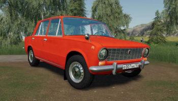 Мод авто ВАЗ 2101 Копейка v1.0 для Farming Simulator 2015