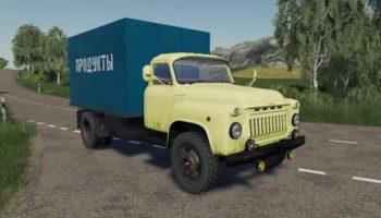 Мод грузовик ГАЗ-52 Продуктовый v1.2 для Farming Simulator 2015