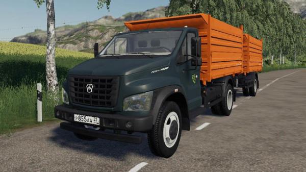 Мод грузовик Газон Next v1.1 для Farming Simulator 2015