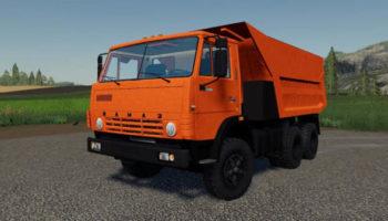 Мод грузовик КамАЗ-55111 v1.0 для Farming Simulator 2015