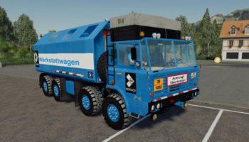 Мод грузовик Tatra 8×8 Service v1.0 для Farming Simulator 2015
