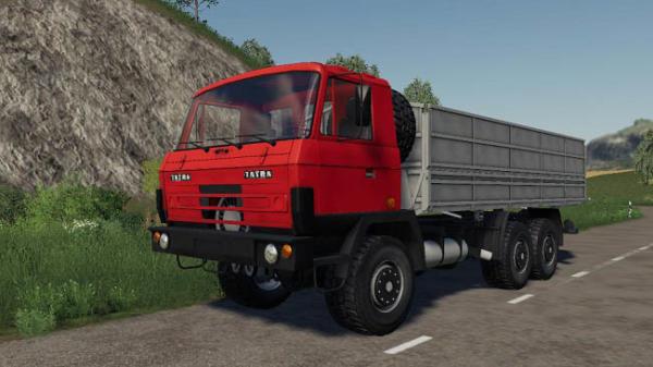 Мод грузовик Tatra 815 Agro v1.0 для Farming Simulator 2015