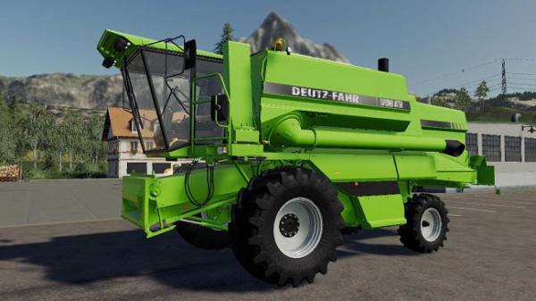 Мод комбайн DEUTZ-FAHR TopLiner 4075H v1.0 для Farming Simulator 2015