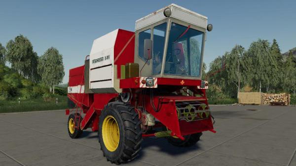 Мод комбайн Fortschritt E514 v2.0 для Farming Simulator 2015