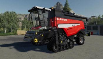 Мод комбайн LAVERDA M300 Series v2.0 для Farming Simulator 2015
