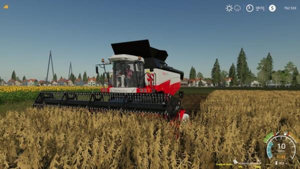 Мод комбайн ROSTSELMASH TORUM Pack V1.1 для Farming Simulator 2015