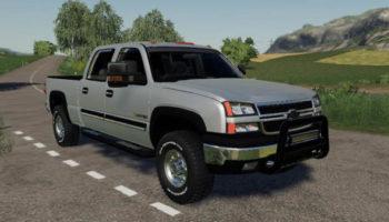 Мод пикап 2005 Chevrolet 2500HD 6.0L v1.0 для Farming Simulator 2015