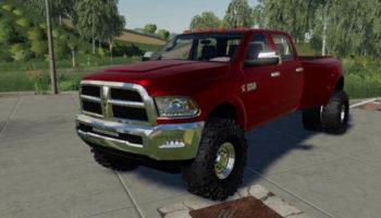 Мод пикап RAM 3500 Cummins Dually v3.0 для Farming Simulator 2015