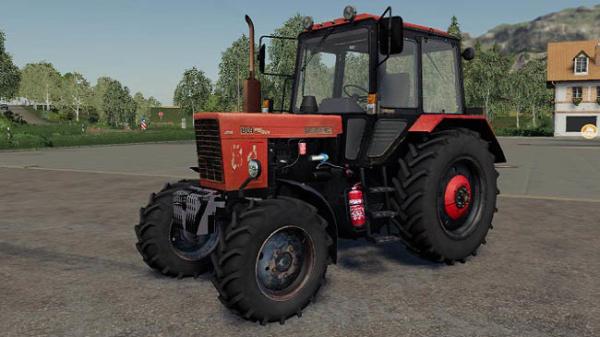 Мод трактор Беларус МТЗ-80.1 v1.0 для Farming Simulator 2015