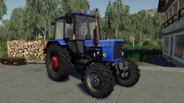 Мод трактор Беларус МТЗ-82.1 v1.1 для Farming Simulator 2015