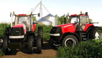 Мод трактор Case IH 2011 Magnum Small Frame v1.0 для Farming Simulator 2015