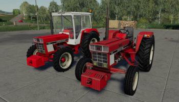 Мод трактор Case IH 644-744-84SB v1.0 для Farming Simulator 2015