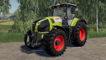 Мод трактор Claas Axion 800-840 v0.9.9 для Farming Simulator 2015