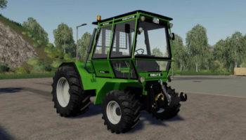 Мод трактор Deutz fahr intrac v1.0 для Farming Simulator 2015