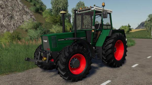 Мод трактор Fendt 600 Turbomatik E v1.0 для Farming Simulator 2015