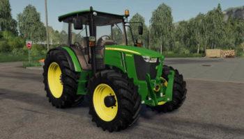 Мод трактор John Deere 5085M v1.0 для Farming Simulator 2015