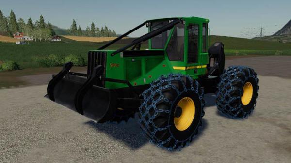 Мод трактор John Deere GIII Skidder v1.0.1.6 для Farming Simulator 2015