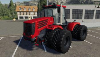 Мод трактор Кировец K744 Р4 Премиум v2.6.1 для Farming Simulator 2015
