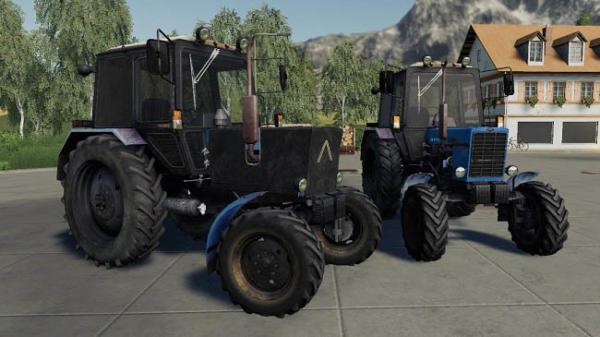 Мод трактор МТЗ-82.1 v1.0.3 для Farming Simulator 2015