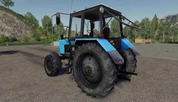 Мод трактор МТЗ-82.1 v1.1.2 для Farming Simulator 2015