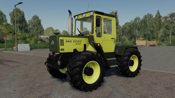 Мод трактор Mercedes Benz Trac 700-900 v1.0 для Farming Simulator 2015