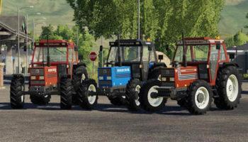 Мод трактор New Holland 110 90 v1.0 для Farming Simulator 2015