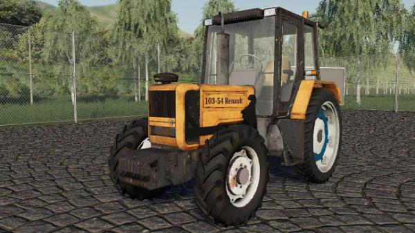 Мод трактор Renault 103.54 v1.0 для Farming Simulator 2015