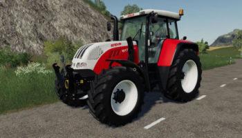 Мод трактор STEYR CVT 6175 SMatic v1.5.0 для Farming Simulator 2015