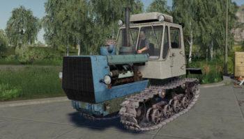 Мод трактор Т-150 на гусеничном ходу v1.0 для Farming Simulator 2015