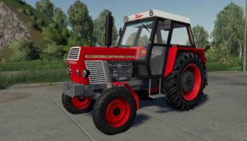 Мод трактор Zetor Crystal 12011 v1.1 для Farming Simulator 2015