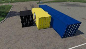 Мод ПАК ATC CONTAINER PACK V3.1 для Farming Simulator 2015