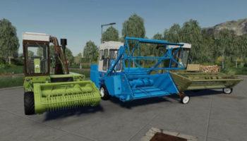 Мод ПАК Fortschritt E 281-C Pack v1.1 для Farming Simulator 2015