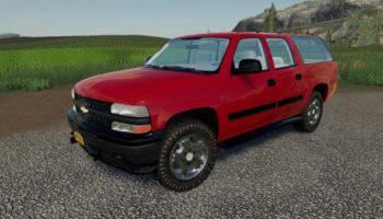 Мод авто 1999 Chevy Suburban v1.0 для Farming Simulator 2015