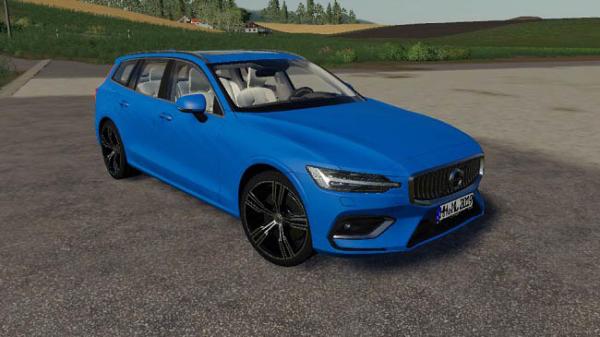 Мод авто Volvo V60 v1.2.1.0 для Farming Simulator 2015