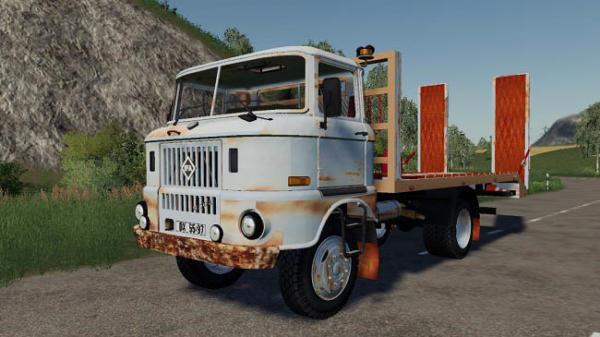 Мод грузовик IFA W50 Towtruck v1.1 для Farming Simulator 2015