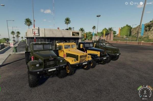 Мод грузовик Краз-255Б Новая жизнь v2.7 для Farming Simulator 2015