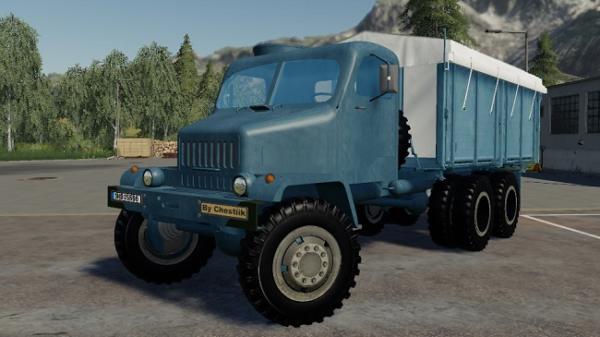 Мод грузовик Praga V3S + HKD module v1.0 для Farming Simulator 2015