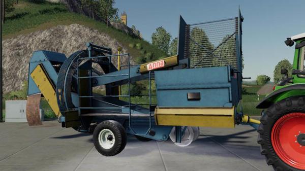 Мод комбайн ANNA Z664 Potato Harvester v1.0 для Farming Simulator 2015